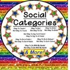 Autism CATEGORIES of Social Behavior – Okay/Not Okay SET OF 10 File Folder Activities This EASY-to-assemble set of 10 Social Behavior Sorting file ...