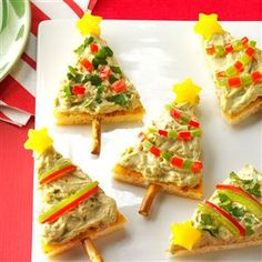 Festive Guacamole Appetizers Recipe -This cold appetizer pizza has appeared at family functions for many years. I know you'll love it, too. —Laurie Pester, Colstrip, Montana