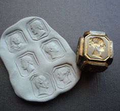 victorian multi-cube seal