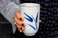 Tumbler Cups / White Pottery Cups / Handleless by MadAboutPottery