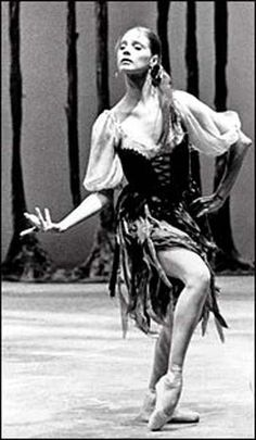 Suzanne Farrell- Tzigane.  My very favorite ballerina.