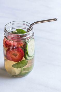 Fruit, Veggie & Herb Infused Water