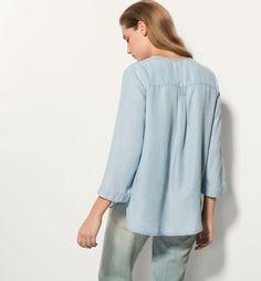 блузка - Massimo Dutti лето-16