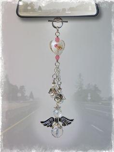 Angel Car Charm - Rear View Mirror Car Accessories | Our Bead Box™ Blog