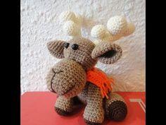 ▶ Рождественский ОЛЕНЬ Ч-1 Christmas deer P-1 Crochet - YouTube