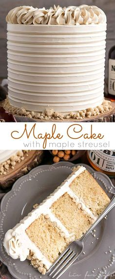 This Maple Cake is p