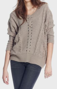 Gravel Cory Sweater