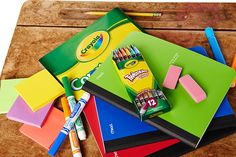 School supplies, crafts and everything else you need for back to school is available at Walmart.