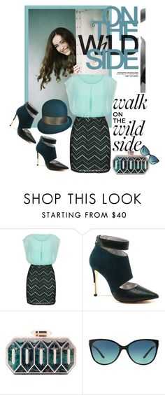 """""""Walk on the wild side"""" by marastyle ❤ liked on Polyvore featuring Paskal, maurices, Luichiny, Lolita Lorenzo and Tiffany & Co."""