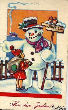 Snowman, Winter, Painting, Art, Winter Time, Art Background, Painting Art, Kunst, Paintings