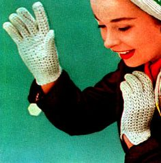 Crocheted Gloves   Free Crochet Patterns