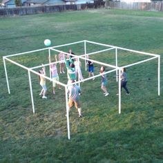 four square PVC voll