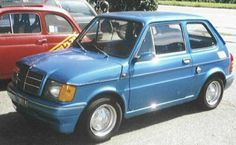Post with 272 views. Fiat or is it? Peugeot, Fiat 126, Cute Cars, Funny Cars, Top Cars, Nissan Skyline, Small Cars, Car Humor, Cars And Motorcycles
