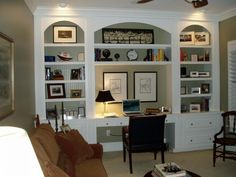 Beautiful 15 Smart Ways How To Decorate Your Home With Built Ins To Save Space Office  Decor