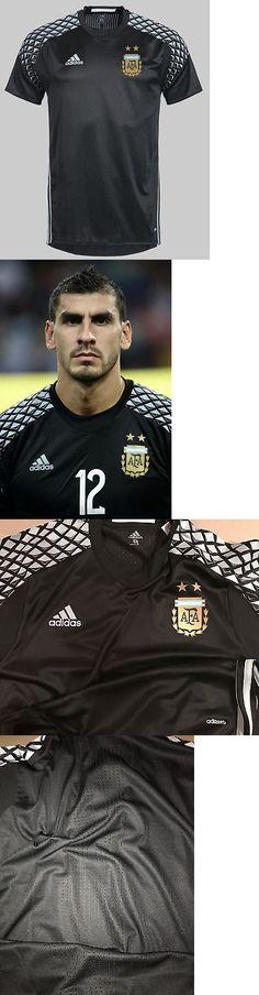 Soccer-National Teams 2891: Nwt Adidas Afa Argentina Size 8 Adizero Goalie Short Sleeve -> BUY IT NOW ONLY: $125 on eBay!