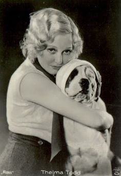 0 Thelma Todd and Pete the Pup