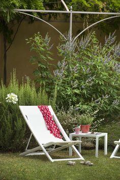Superbe salon de jardin qui associe design et matériaux d\'exception ...