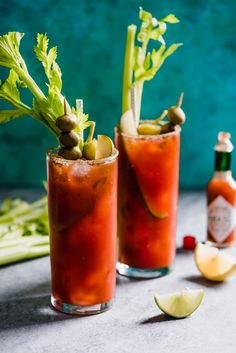 Mexican Bloody Maria cocktail is made with tequila and lime juice for a fun twist on the classic Bloody Mary. Bloody Mary Recipes, Cocktail Party Food, Cocktail Recipes, Cocktail Drinks, Cocktail Ideas, Margarita Recipes, Drink Recipes, Gastronomia, Restaurants