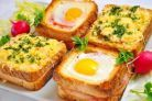 Unusual and Delicious Sandwiches for Breakfast. Delicious sandwiches for a lovely breakfast with your family! Mega Sandwich, Sandwich Recipes, Monte Cristo Sandwich, Sandwich Ingredients, Good Food, Yummy Food, Delicious Sandwiches, Cooking Recipes, Healthy Recipes