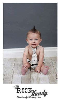 Rascal Bottoms Baby Boy Diaper Cover Bloomer Tie Set Little Man Mustache on Etsy, $20.00