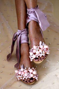 SHOES :: Shop sandals :: New Arrivals - Elina Linardaki - Artisanal Leather Sandals Boho Sandals, Women's Shoes Sandals, Leather Sandals, Shoe Boots, Chunky Sandals, Beaded Sandals, Flat Shoes, Cheap Womens Sandals, Creative Shoes