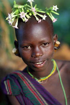 Ethiopian tribes, Suri by Dietmar Temps, what a beautiful portrait!