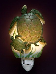 Ibis & Orchid Sea Turtles Night Light, available at http://stores.waughinteriordesigns.com/-strse-284/Ibis-and-Orchid-Sea/Detail.bok?xcategory=Home%20Decor%3ANight%20Lights#