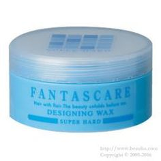 http://www.beauba.com/products/detail.php?product_id=12296 Napla Fantascare Designing Wax Super Hard 50g. #Styling #Wax  Styles hair while conditioning it with 4 naturally-extracted essences: herbal extract. fish-derived collagen / conchiolin and silk protein. Keeps style for a long time. Holds movements in hair ends and hair tufts with hard setting power without...