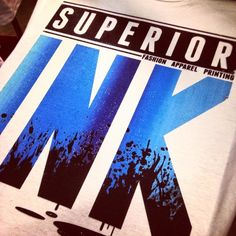 What sets us apart from the rest? We are not just making t-shirts, we are building brands and creating identities! #superiorink #design #apparel #printing #screenprinting #fashion #branding #brand #passion #excellence #denver