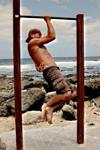 One Arm Pullups - Body Weight Training Arena.