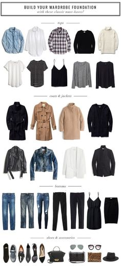 Closet Staples that Make a Great Wardrobe Foundation
