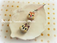 Chip 'n Dale cell phone charm^^