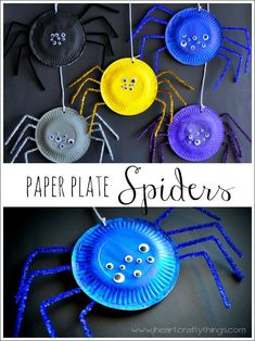 Looking for easy Halloween craft ideas? This round up of Halloween Crafts for Preschoolers has loads of ideas that you can do at home or in a school setting. Great craft ideas for Halloween class parties too! Halloween Arts And Crafts, Halloween Crafts For Toddlers, Halloween Crafts For Kids, Halloween Diy, Diy For Kids, Family Halloween, Halloween Recipe, Women Halloween, Halloween Games