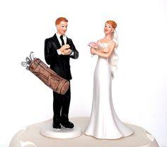 Golf Wedding Cake Toppers Ireland