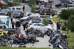 May 18, 2015 ROD AYDELOTTE/WACO TRIBUNE HERALD, VIA ASSOCIATED PRESS Bikers' Shootout in Texas Leaves 9 Dead  A gang fight on Sunday left a scene of bloodshed and chaos at a restaurant where at least nine people died in Waco, Tex. Page A9.