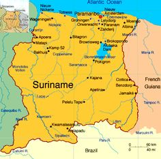 Suriname… I want to go here with my mother!