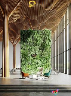 Gallery of North America's Tallest Living Green Wall Coming to Texas  - 4 Gallery of North America's Tallest Living Green Wall Coming to Texas - 4<br> Image 4 of 11 from gallery of North America's Tallest Living Green Wall Coming to Texas. Courtesy of Rastegar Property Company