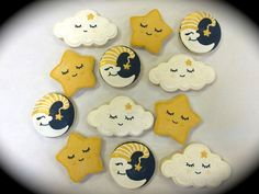 Baby Shower Cookie Favors Twinkle Twinkle Little by ClawsonCookies