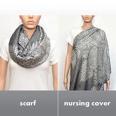 Nursing Cover,Nursing Infinity Scarf, Breastfeeding Cover (Floral Gray) Rodaruus http://www.amazon.com/dp/B00MKAWVQO/ref=cm_sw_r_pi_dp_EIo2wb02D1THJ