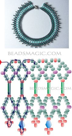 This Pin was discovered by Sar Beading Patterns Free, Seed Bead Patterns, Beading Tutorials, Free Pattern, Seed Bead Jewelry, Bead Jewellery, Jewelry Making Beads, Beaded Crafts, Beaded Ornaments