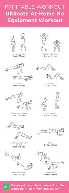 Ultimate At-Home Workout (custom)