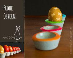 Glücksmomente - Wort.Bilder.Illustrationen: Eierbecher aus Zement