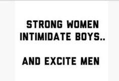 To many boys and not enough men!