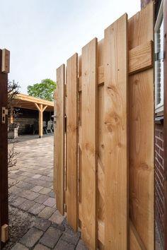 Overkapping Echteld Backyard Pavilion, Backyard Patio Designs, Backyard Playhouse, Outdoor Pergola, Outdoor Kitchen Design, Fence Design, Play Houses, Outdoor Living, Shed
