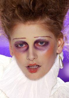 John Galliano Spring 2004 Ready-to-Wear Collection Photos - Vogue Drag Makeup, Goth Makeup, Clown Makeup, Beauty Makeup, Hair Makeup, Makeup Geek, Eye Makeup, John Galliano, Victorian Makeup