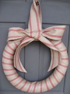 Article + Gallery ➤  http://CARLAASTON.com/designed/holiday-door-wreaths-you-wish-were-yours 18 Breathtaking Christmas Door Wreaths (Image Source:  etsy.com