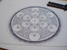 sacred geometry flower of life tattoo - Google Search