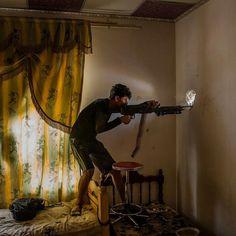 On Mosul's Front Line. Ivor Prickett.