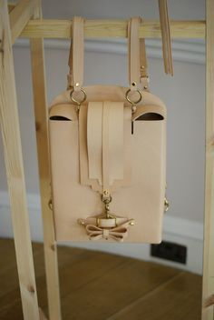 Niels Peeraer Bag at LFW