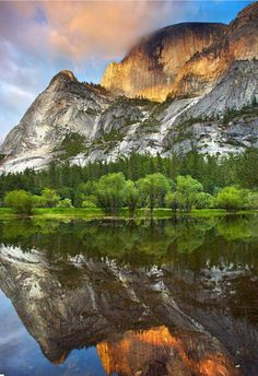 Mirror Lake Yosemite.I want to visit here one day.Please check out my website thanks. www.photopix.co.nz